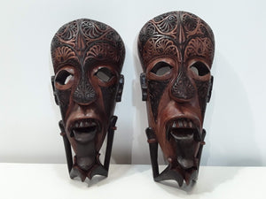 ONE SET OF TWO BATAK PROTECTIVE MASKS NO INTERNET CONNECTION IS RE