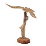 "EAGLE IN FLIGHT, ON STAND, APPROX. 7"" - Sejati"
