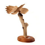 EAGLE IN FLIGHT, ON STAND, APPROX. 7""