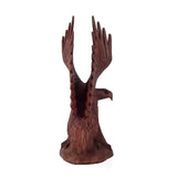 EAGLE STATUE, WINGS UP, 12 INCHES H - Sejati