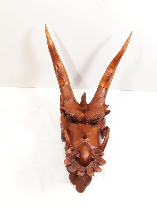 DRAGON HEAD, SUAR WOOD 8 INCHES - Sejati