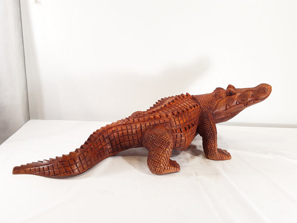 ALLIGATOR, MOUTH CLOSED, 40 INCH - Sejati