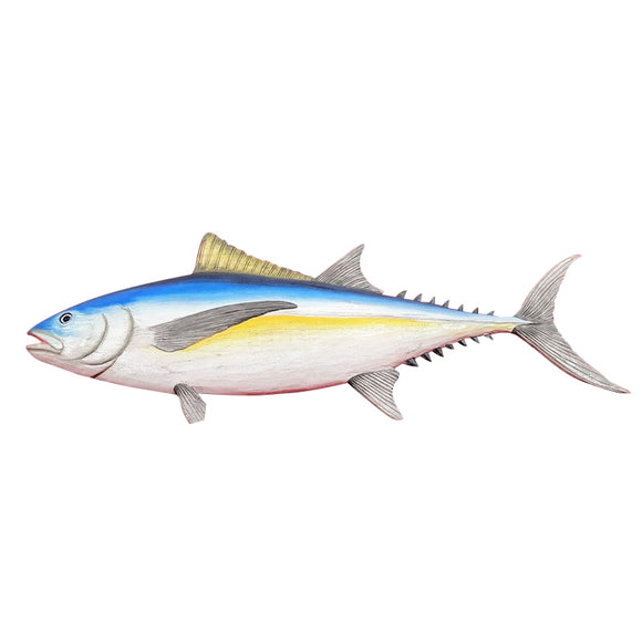TUNA WALL PLAQUE, PAINTED, 20