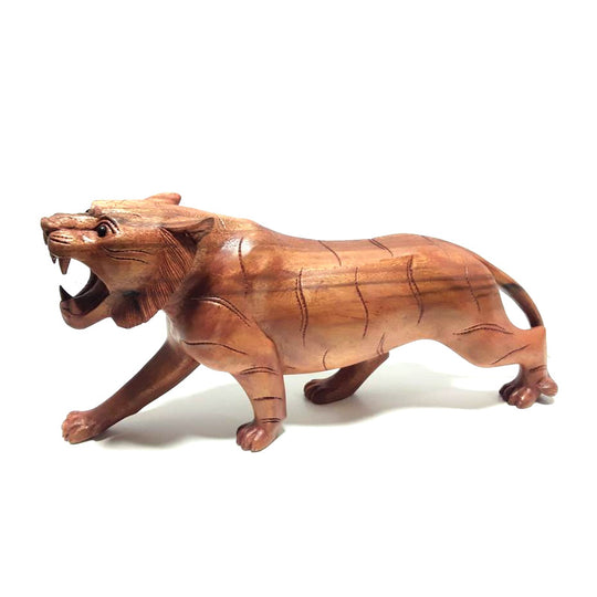 TIGER, HAND CARVED, 20