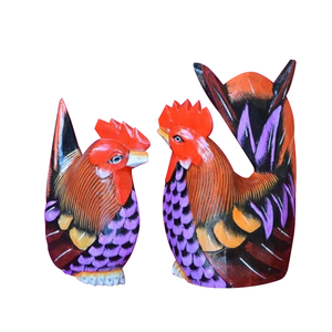 "ROOSTER AND HEN, 8"" - Sejati"