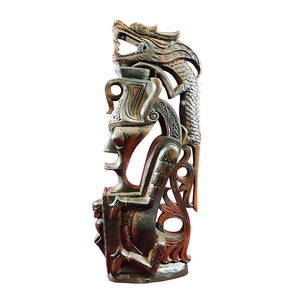 "GOLD CARRIER WITH DRAGON, BATAK, SMALL, 16"" - Sejati"