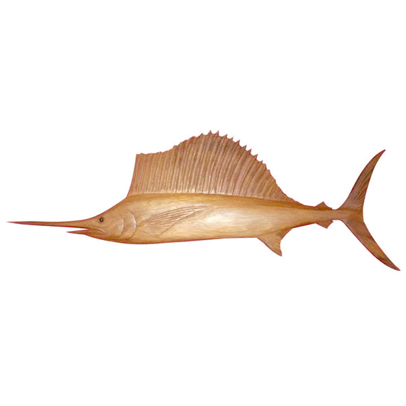SAILFISH WALL HANGING, NATURAL, 20
