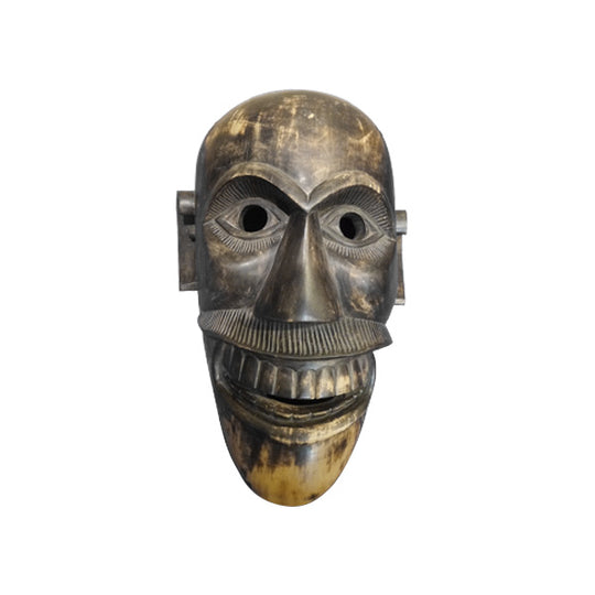 MASK, BATAK DEATH MASK, ORIGINAL PATINA - Sejati