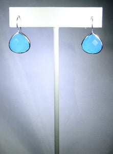 Tear Drop Earring- Sky Blue
