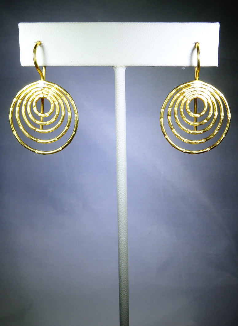 Five-Loop Earring