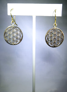 Floral Geometric Earring