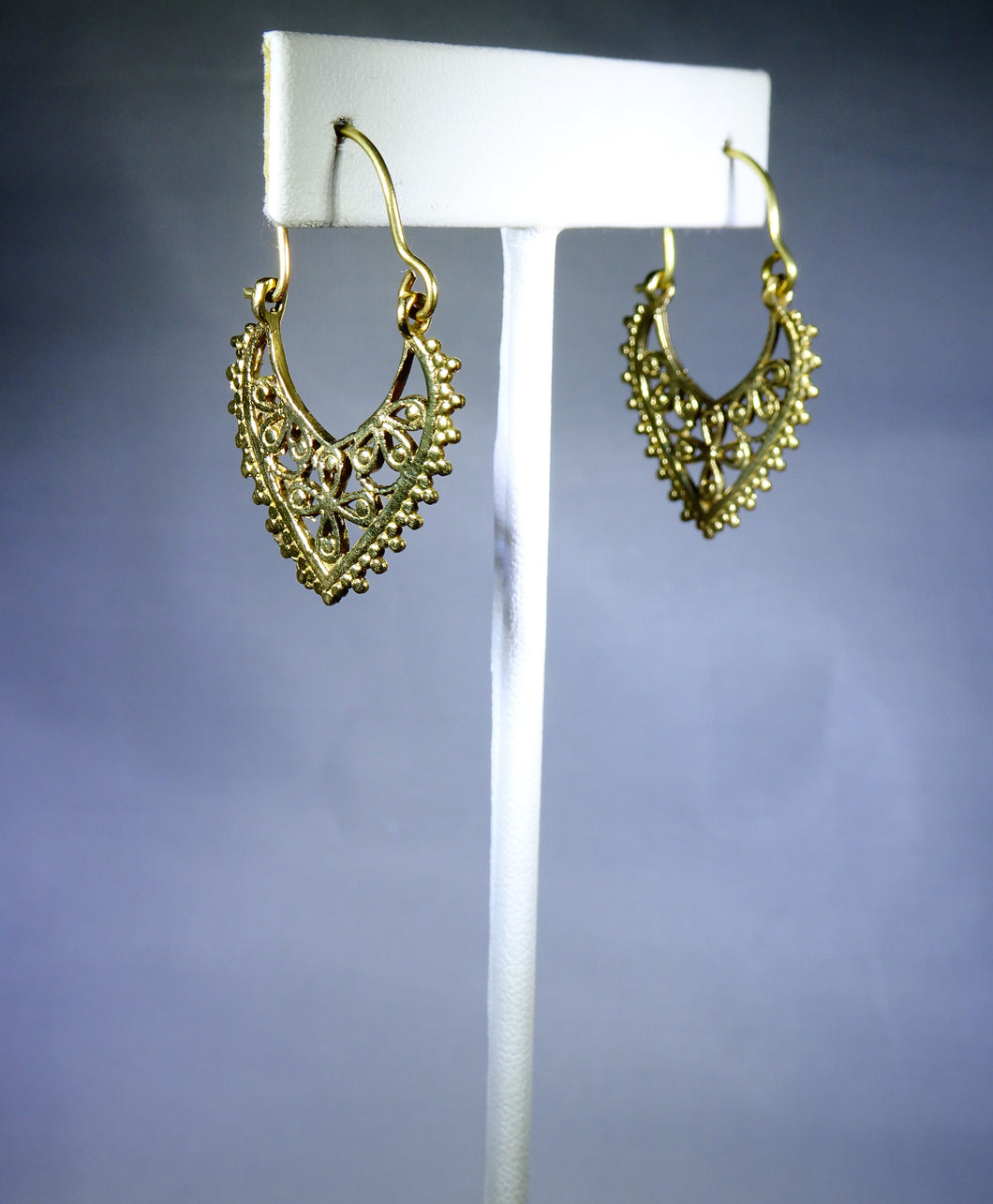 Floral Drop Earring