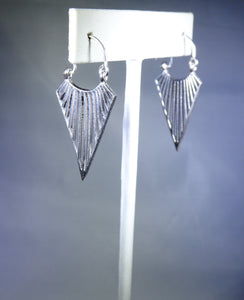 Arrow Earring, Silver