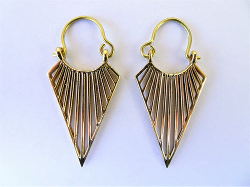 Gold Arrow Earrings