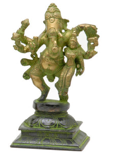 Ganesh Dancing with Lakshmi - Medium