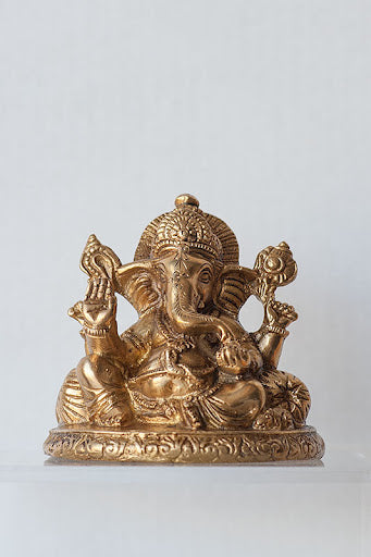 Ganesh on Pillow - Medium