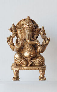 Ganesh on Throne - Medium