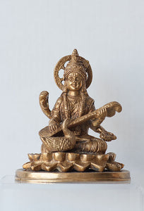 Saraswati with Swan - Medium