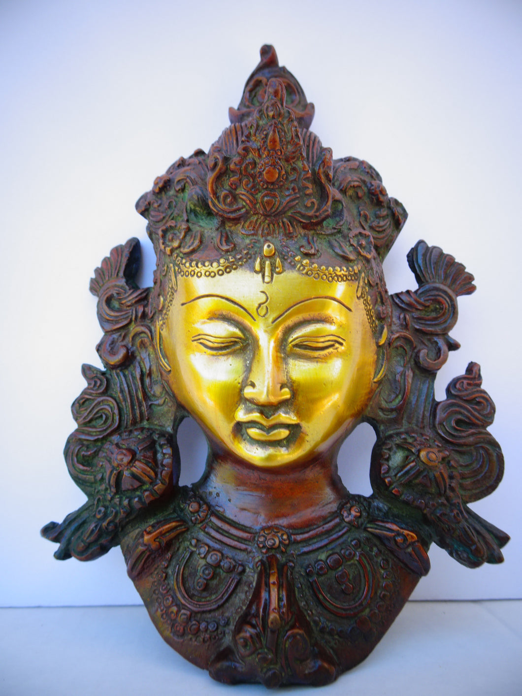 Green Tara Mask - Medium