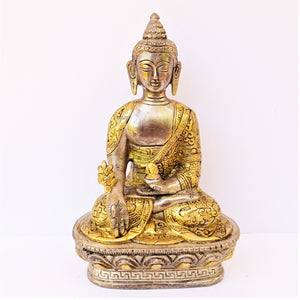 Two Tone Medicinal Buddha - Medium