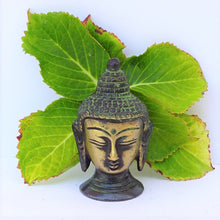 Load image into Gallery viewer, Green Buddha Head - Small