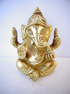Ganesh Sitting Blessing - Small