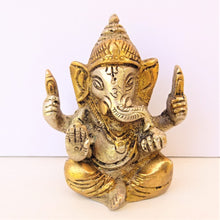 Load image into Gallery viewer, Two Tone Ganesh Blessing - Small