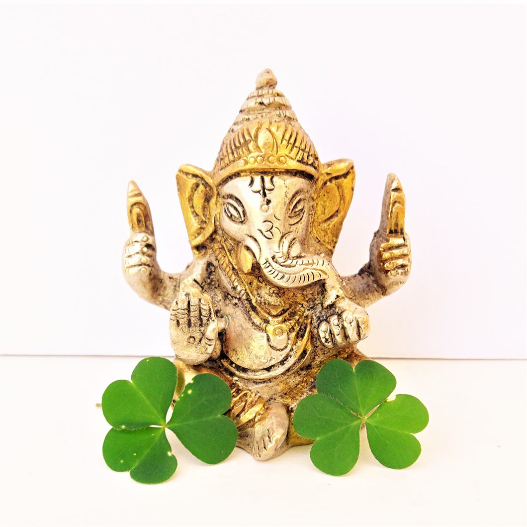 Two Tone Ganesh Blessing - Small
