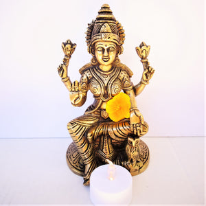 Lakshmi with Owl - Medium
