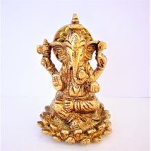 Load image into Gallery viewer, Ganesh on Lotus - Mini