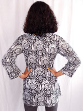 Load image into Gallery viewer, Paisley Cotton Tunic
