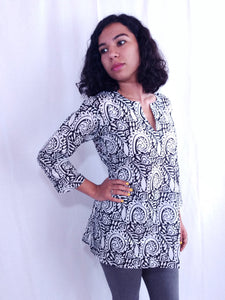 Paisley Cotton Tunic