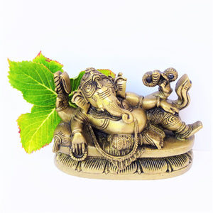 Reclining Ganesh - Medium