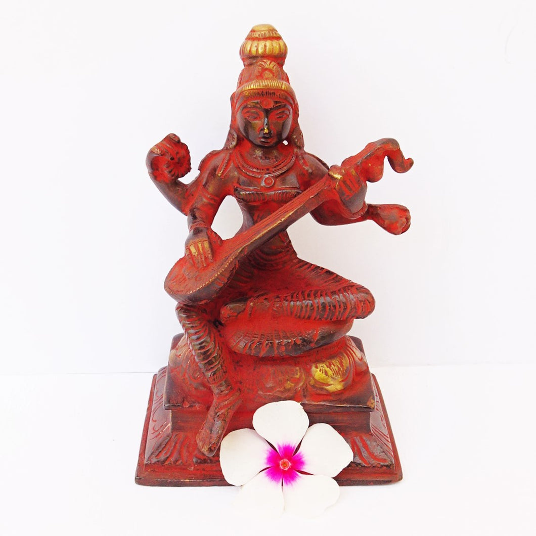Saraswati Red - Medium