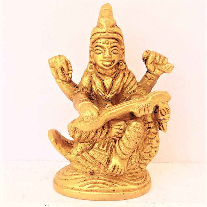Saraswati with Swan - Small