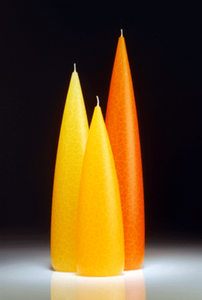 Tall Yellow Candle