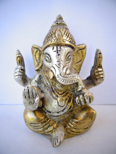 Detailed Two Tone Ganesh - Small