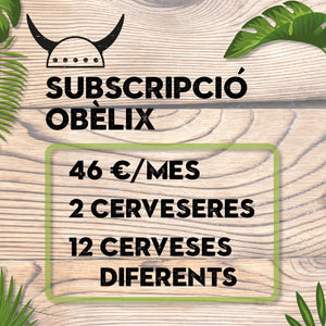 Subscripció Obèlix - Marmita Beer Club