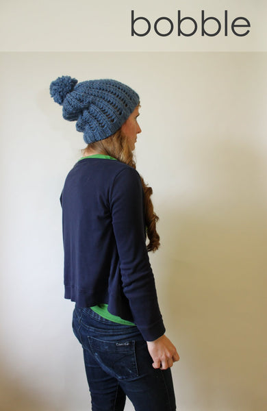 Begbie Toque knitting pattern by Jane Richmond