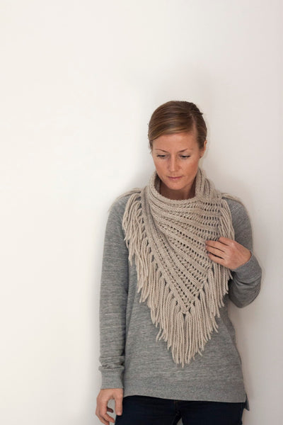 Arika Cowl / knitting pattern by Jane Richmond