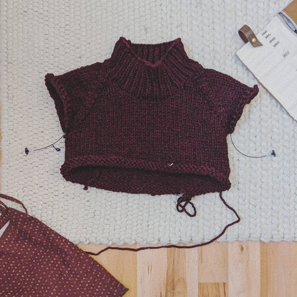 Winston Pullover knit-along with Jane Richmond