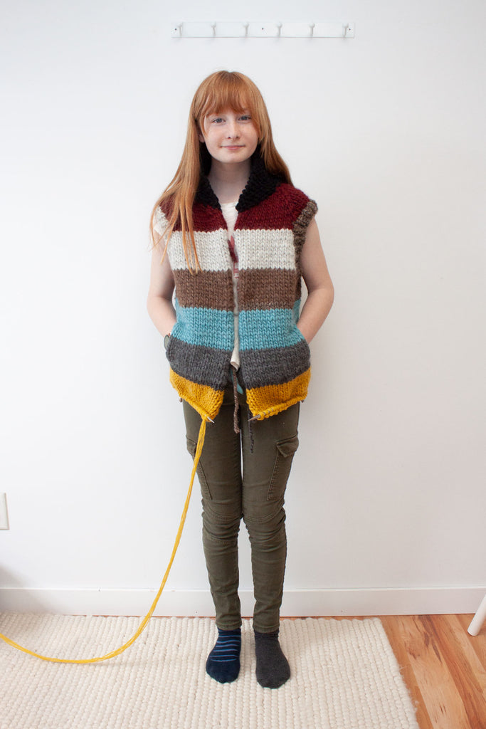 Jane Richmond West Coast Cardigan Vest Hack