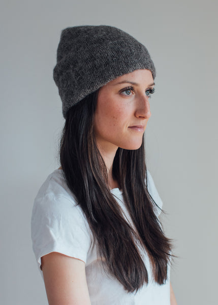SHEPHERD TOQUE / knitting pattern by Jane Richmond