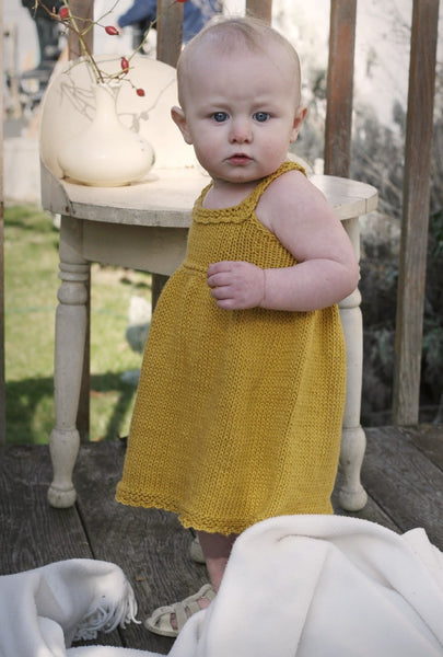 Elsie Sundress knitting pattern by Jane Richmond