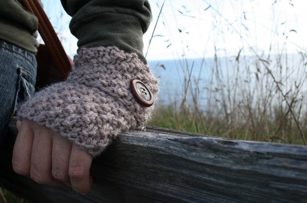 Mitten Cuffs knitting pattern by Jane Richmond