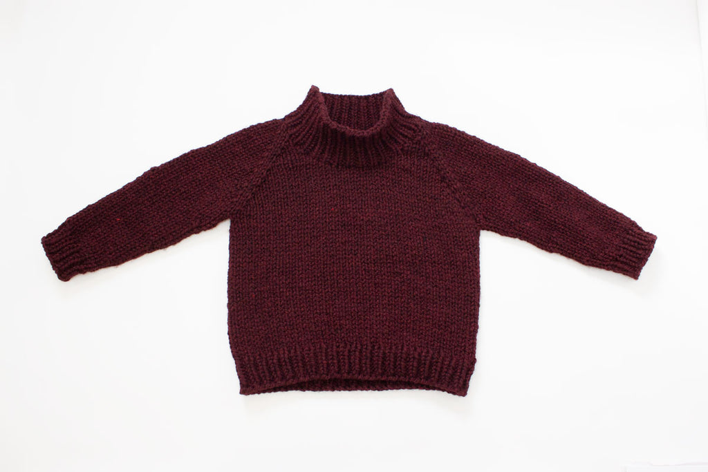 Winston Pullover with funnel neck by Jane Richmond
