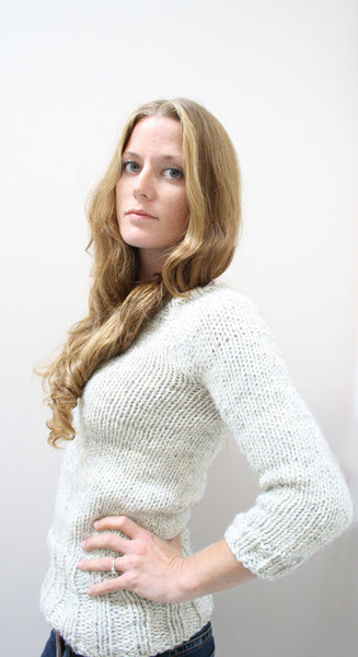 Oatmeal Pullover knitting pattern by Jane Richmond