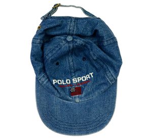 Vintage Polo Sport Denim Hat