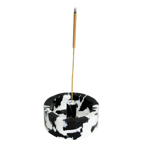 GOOD SMOKE Incense Holder (Black/White)
