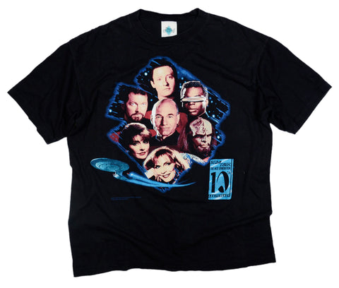 Vintage Star Trek 10th Anniversary T-Shirt (1997)
